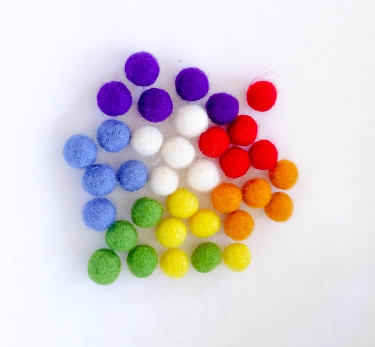 felt balls? hook ;) 1cm/10mm Cu - adkinssupplyco | ello