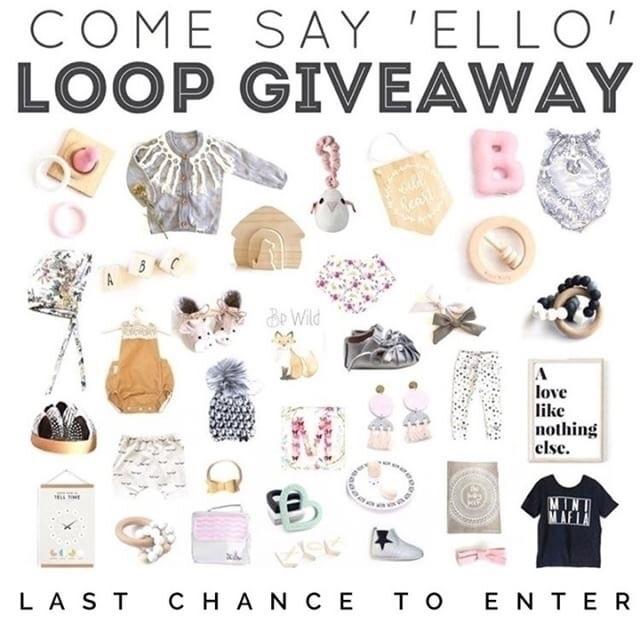 chance enter amazing giveaway,  - evieandcostore   ello