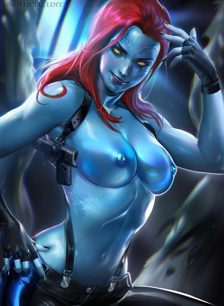 mystique, boobs, tits, marvel - ukimalefu | ello