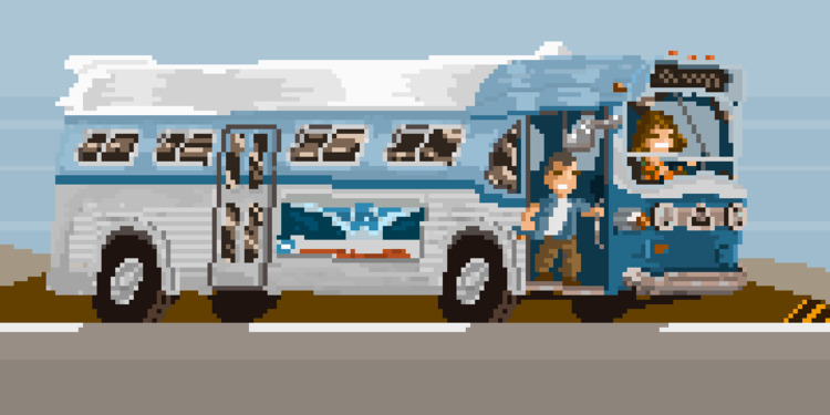 [Speed - 1994 - pixelart - apoonto | ello