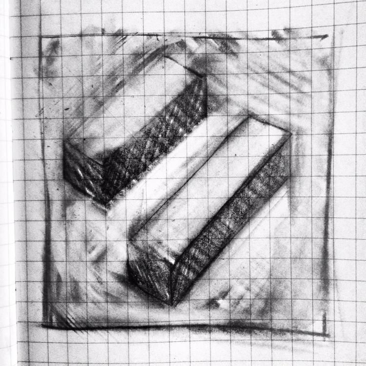 Blocks - drawing, pencil - thenumber73   ello