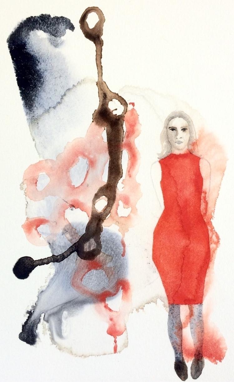 watercolor, paper, neutraltint - vasagatan | ello