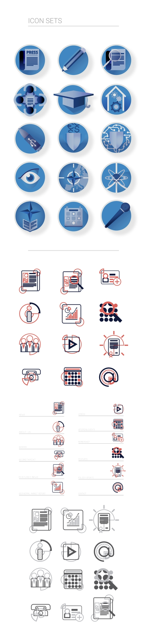 Icons, graphicdesign - krankcrabs | ello