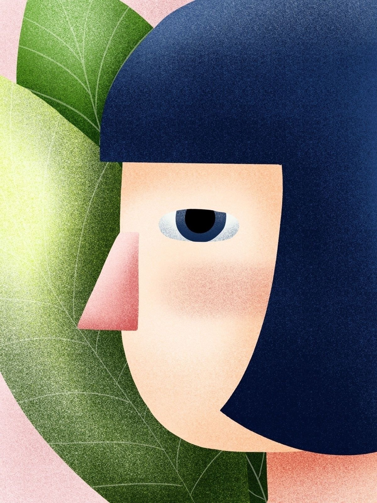 Bored girls loves plants - wip, green - juulstudio   ello