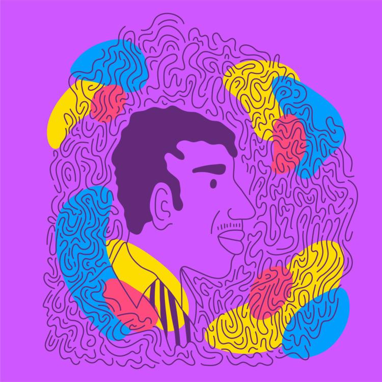 Coltrane - illustration, illustrator - heybop | ello