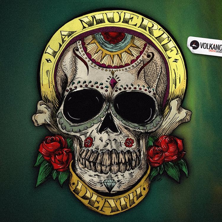 Día de los Muertos. :copyright - volkano | ello