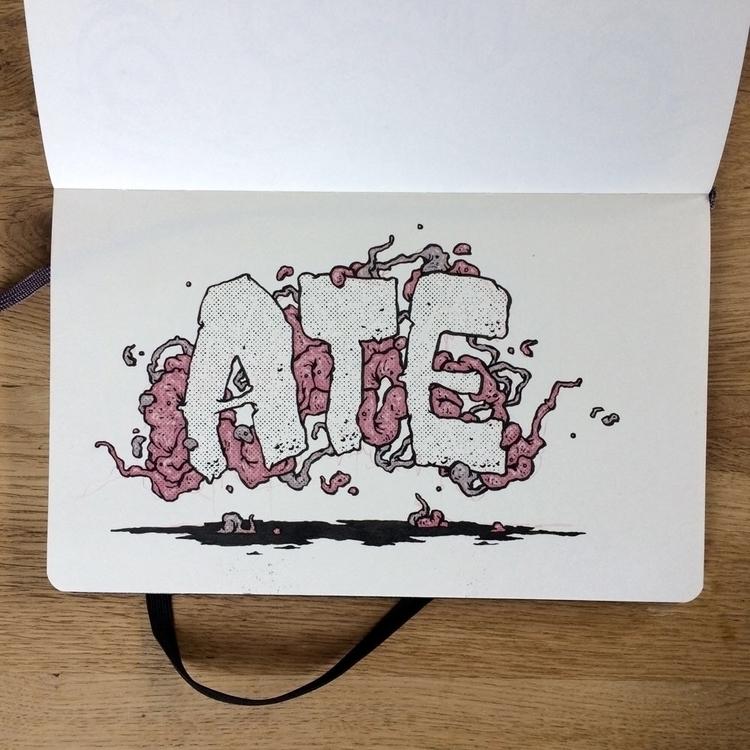 ate, illustration, art, sketchbook - esze_ate | ello