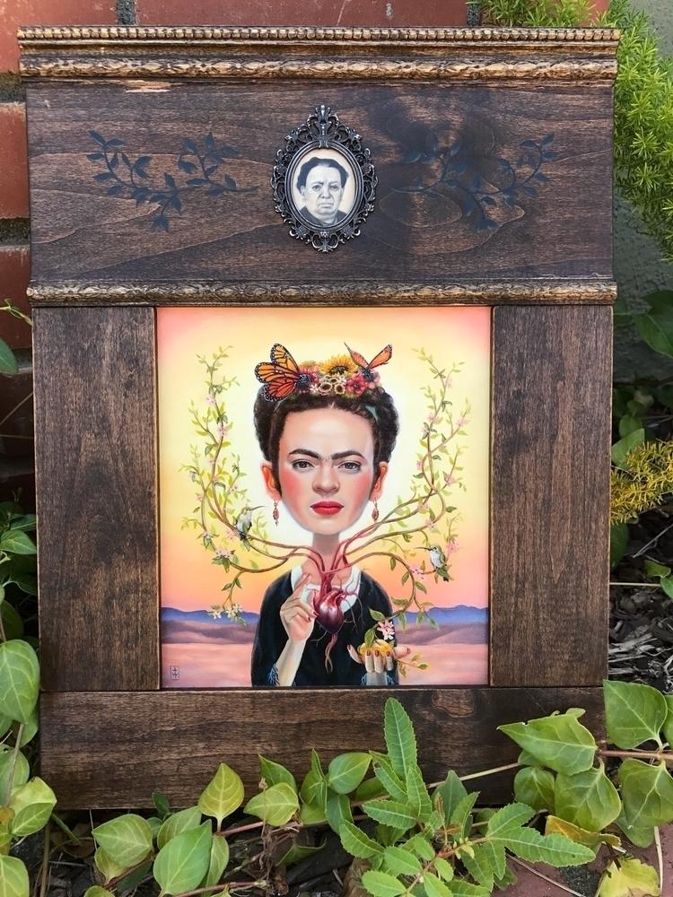 El Corazón de Frida Kahlo show  - terriwoodward | ello