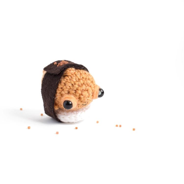 Amigurumi day 7: goldfish disgu - mohu   ello