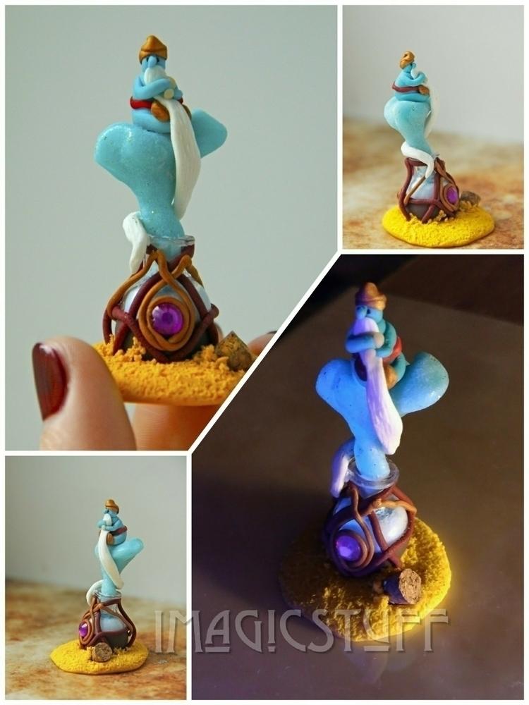 Tiny genie.:sparkles::sparkles - i_magicstuff | ello