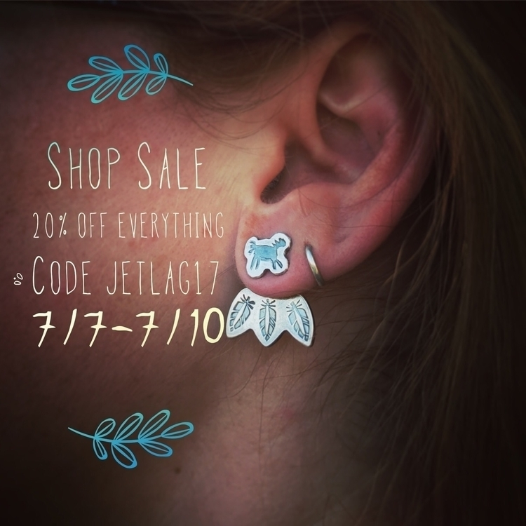 20% entire shop! Good 7/10. cod - sierrasagedesigns | ello