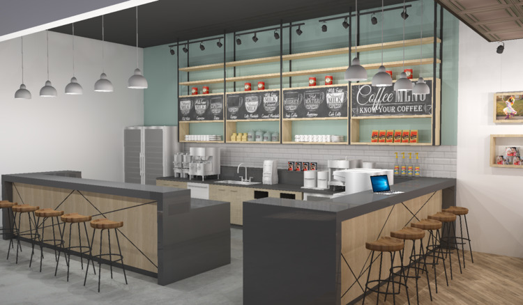 Design rendering Corporate Coff - mochee_bonbons   ello