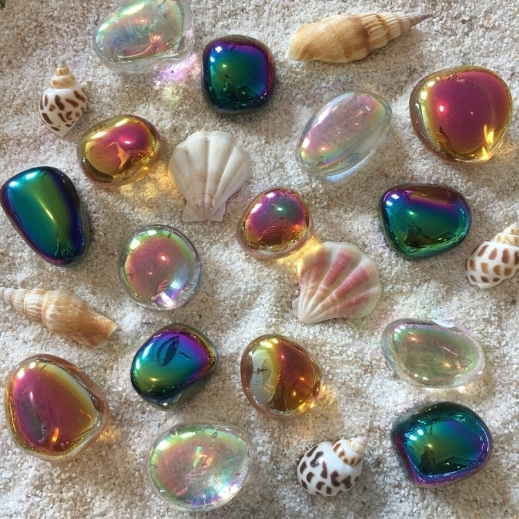 Magical Crystal Seaglass Orbs a - atlantisaura | ello