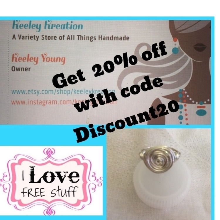 Free spiral ring purchase neckl - keeleykreation | ello
