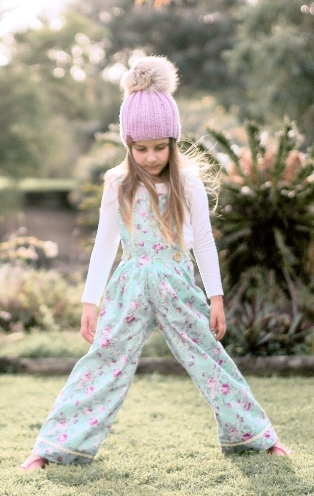 Ava rocking Evie overalls Willo - nurturethenest | ello