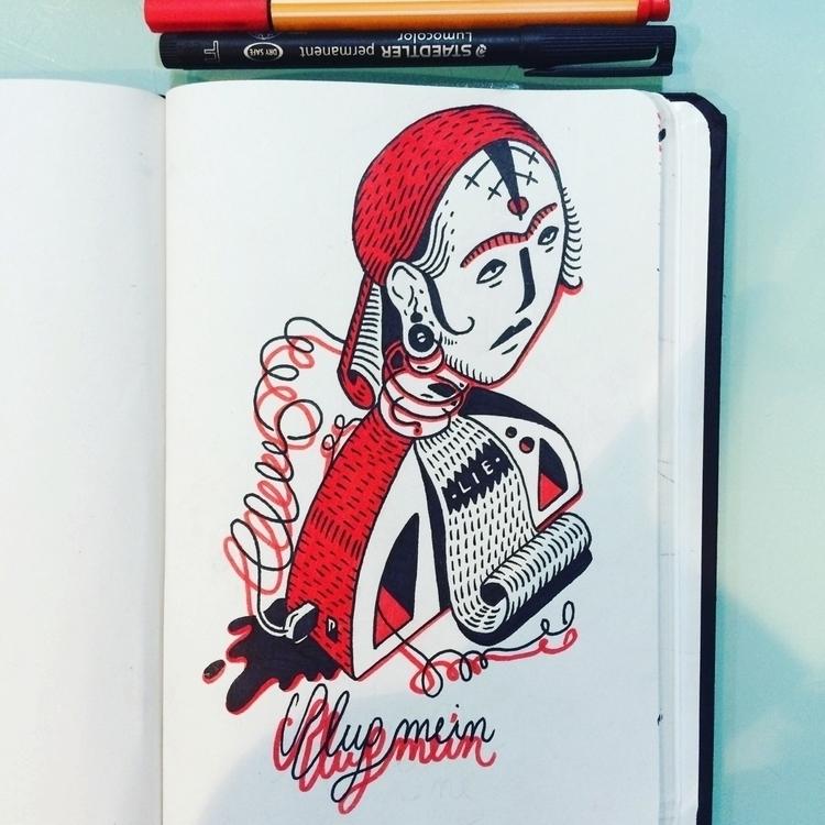 illustration, drawing, markers - mico_l | ello