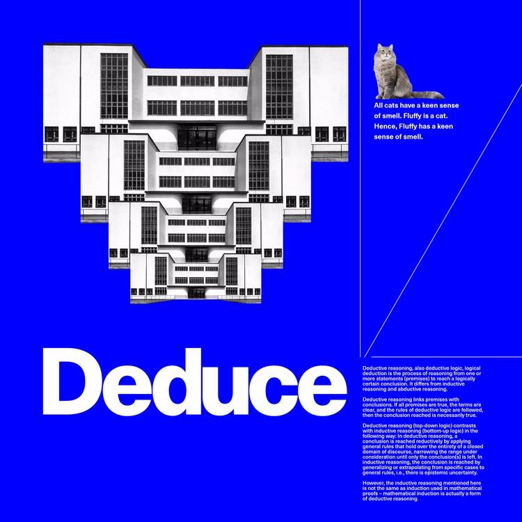 Deduce - graphicdesign - paulsyng | ello