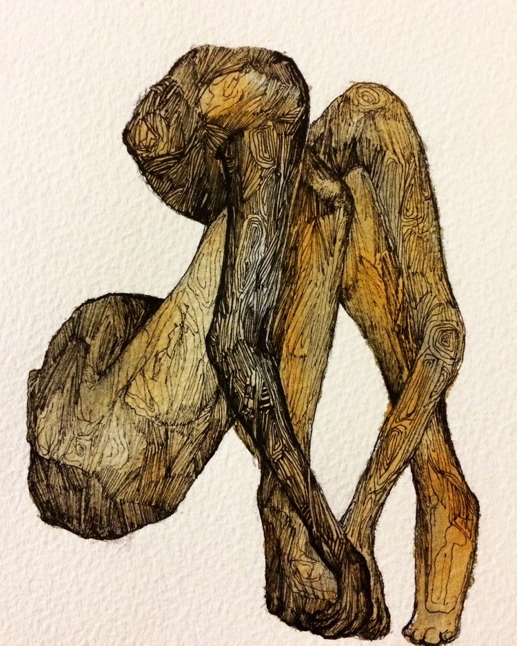 Title: A4 Watercolour, ink fine - jacobbayneartist | ello