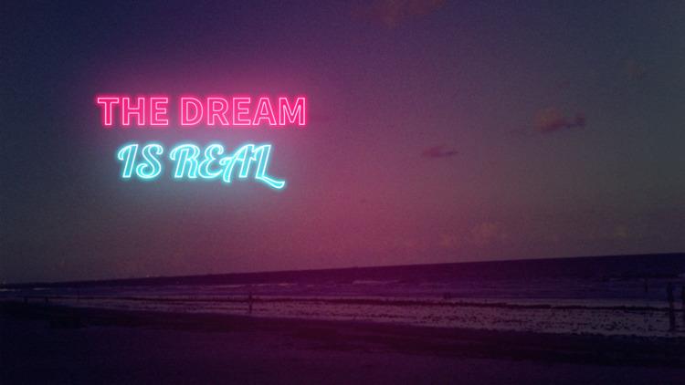 Dream Real - neon, composite - adrian_nalanis | ello