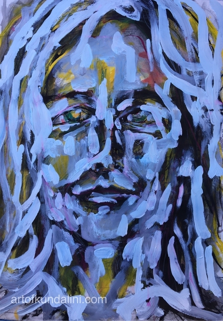 Gabriela finished - art, portrait - arnabaartz   ello