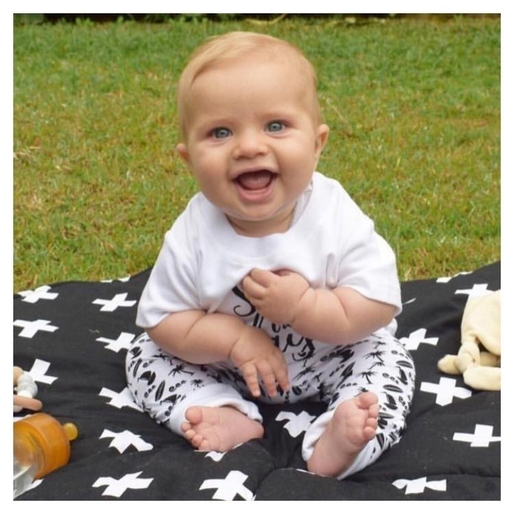 Parker tooooo cute! smile :hear - littlebeanorganics | ello