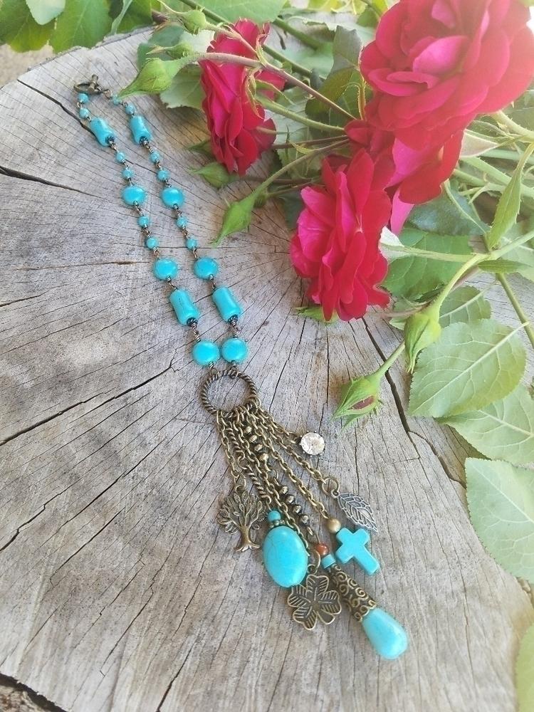 necklaces! features turquoise b - wirewrappedyogi | ello