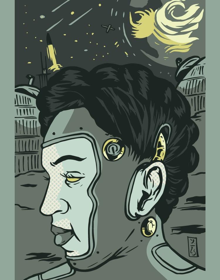 Space Tribe - illustrator - thomcat23 | ello