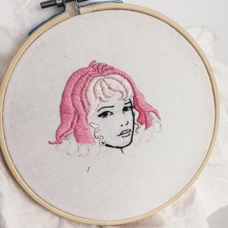 wip, embroidery - tsofiah | ello