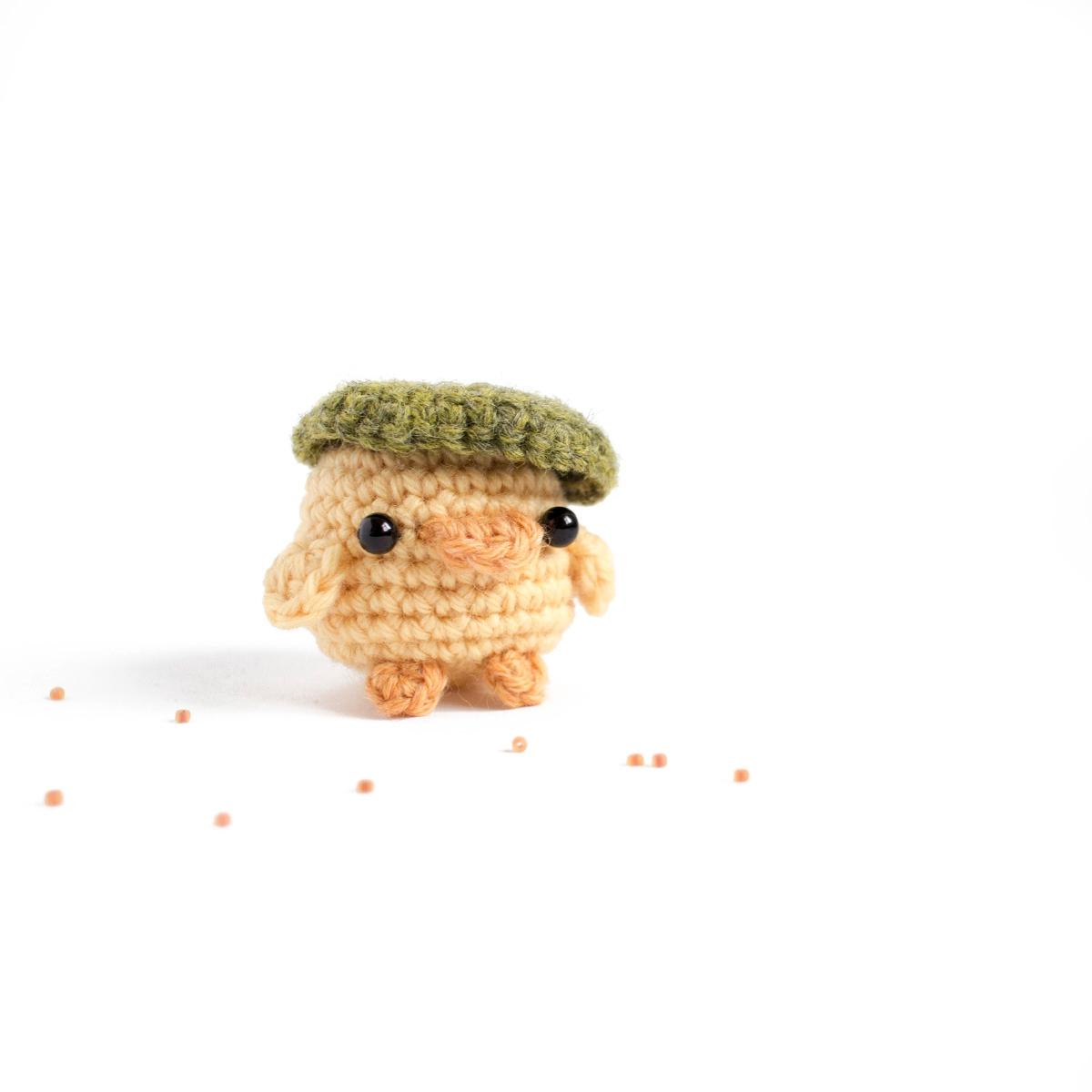 Daily amigurumi 8. small duckli - mohu   ello