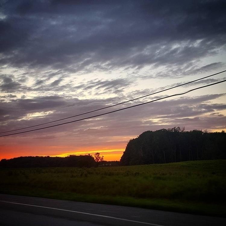 Dreamy skies home - sunset, dusk - grayvervain | ello