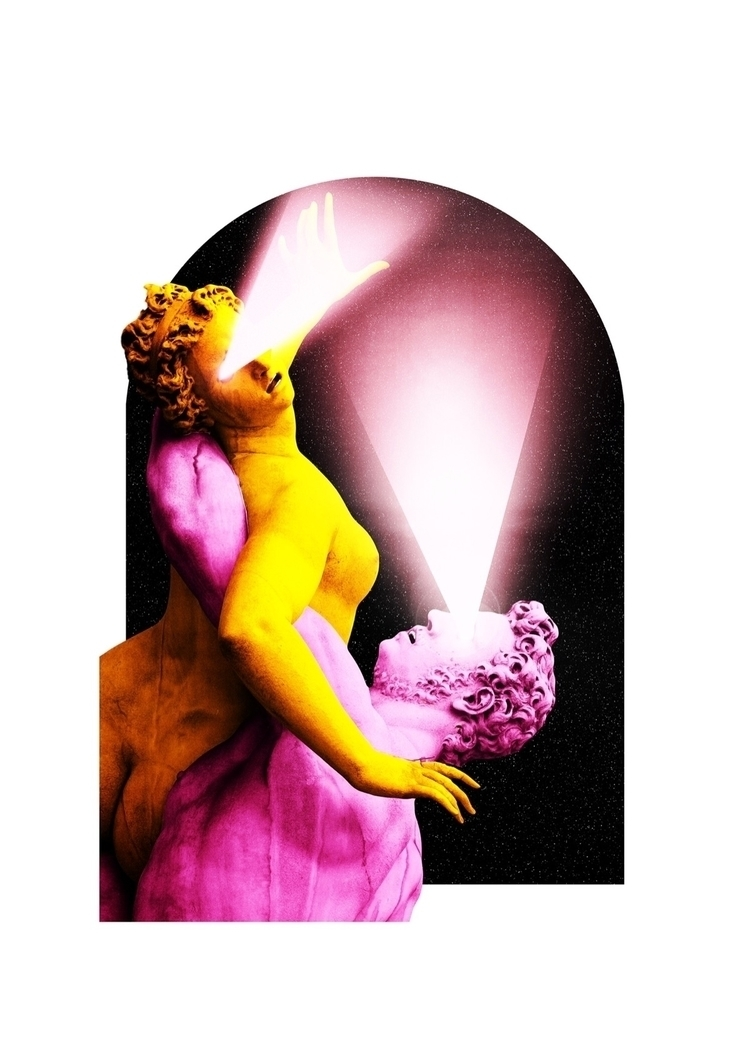 lovers - art, digitalart, colour - darlingdesign | ello