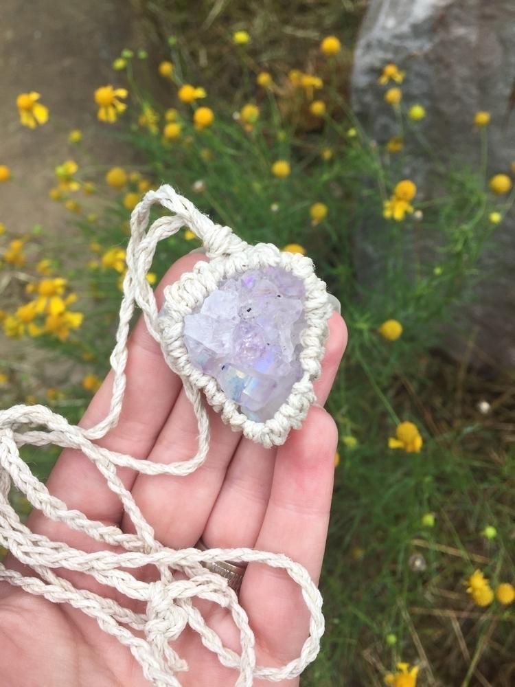 favorite necklace love amethyst - crystalseuphoria | ello