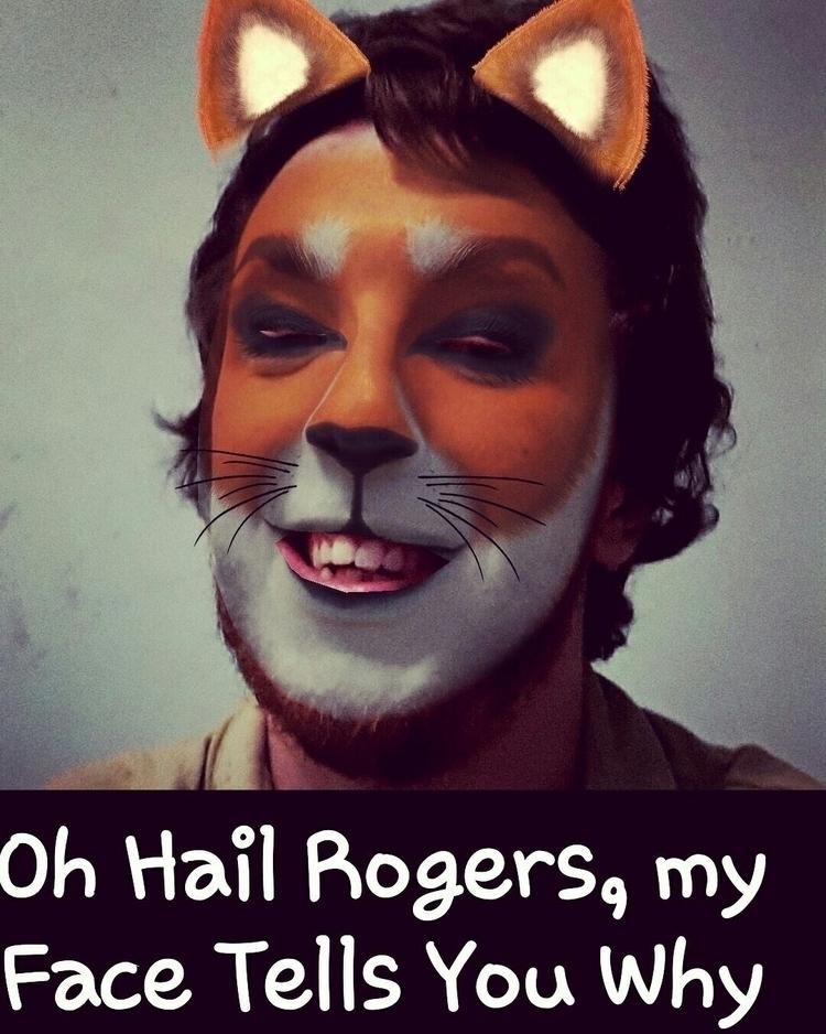 Hey - Rogers,, Tiger, Face, Facebook - lordkrazymoose | ello