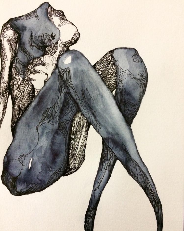 Title: Transparency - watercolor - jacobbayneartist | ello