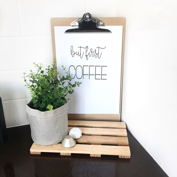 coffee! Life motto - coffeeaddict - mummaof3styling | ello