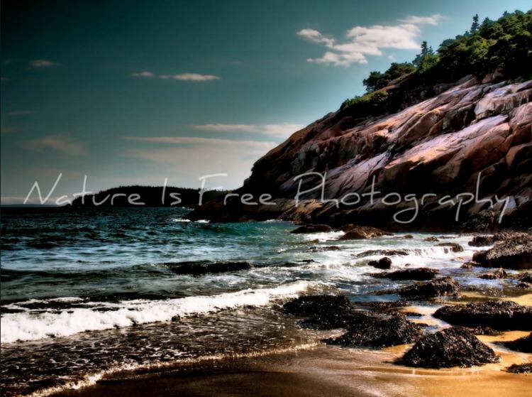 time stand beautiful beach, wav - natureisfree | ello