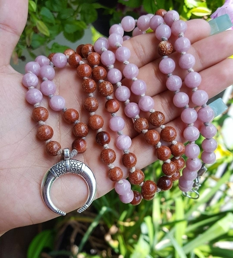 Goldstone Jade~  #loveandlight - kays_kreationss | ello