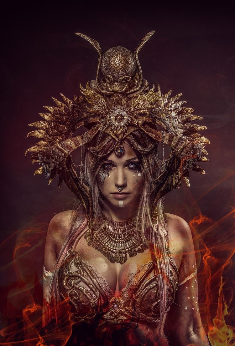 monster - Harhama, Chimaera, da - henrysoderlund | ello