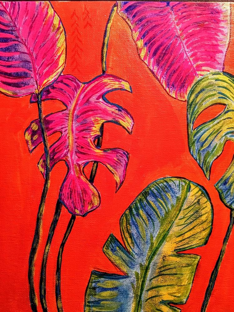 Neon Plants - illustration, nafri - meriamk | ello