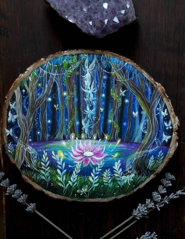 Fairy woods - elloart, ellopainting - magicwood_creations | ello