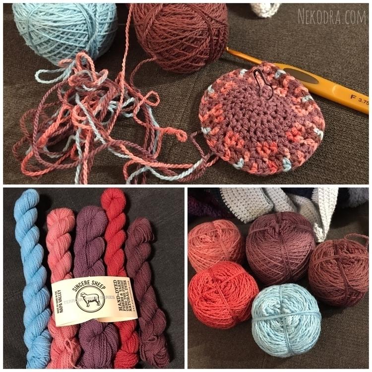 thinking? hard thought crochet  - nekodra | ello