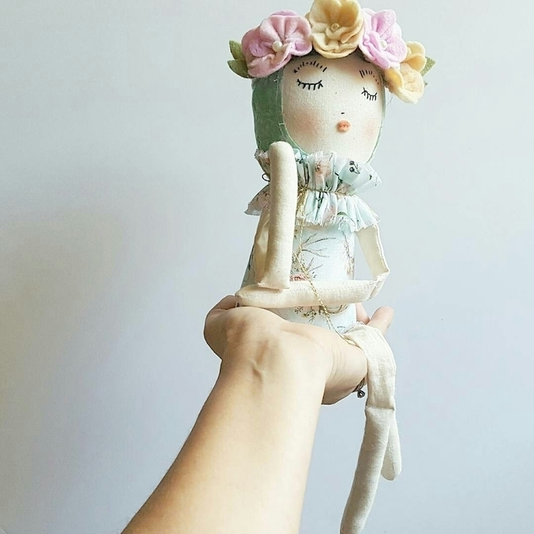 Wisp heirloom art doll - miabethdolls | ello