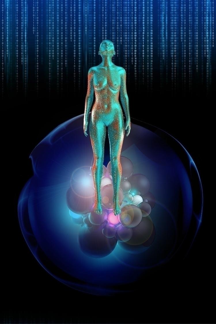 Virtual DNA Special Artwork dig - alan-tolentino | ello