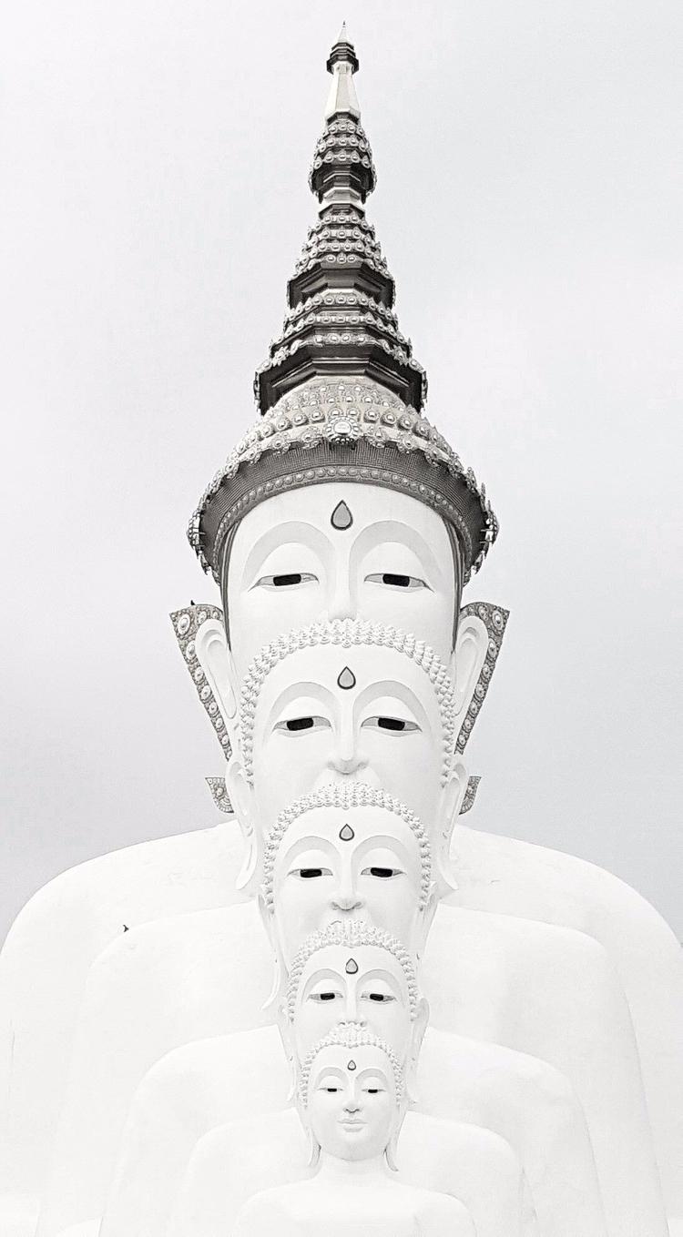 Buddhist Lent Day - blackandwhite#puthipong#thailand - tangmay10 | ello