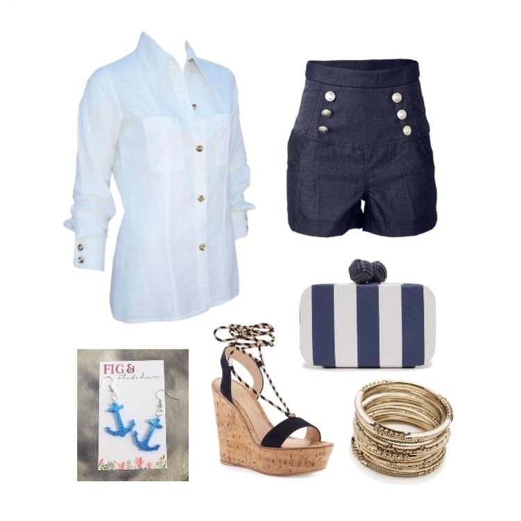 splash nautical outfit inspo Mo - figandfletcher | ello