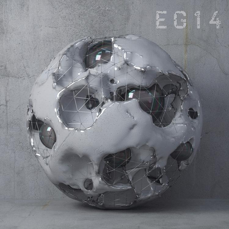 Glitch-Grey experimenting forms - skeeva | ello