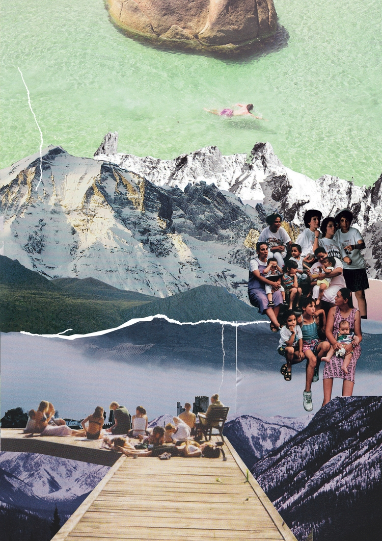 Place - collage, collageart, digitallandscape - samsworld | ello