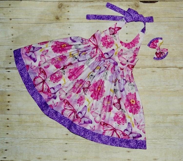 Gorgeous pink purple Butterflie - kattskreations | ello