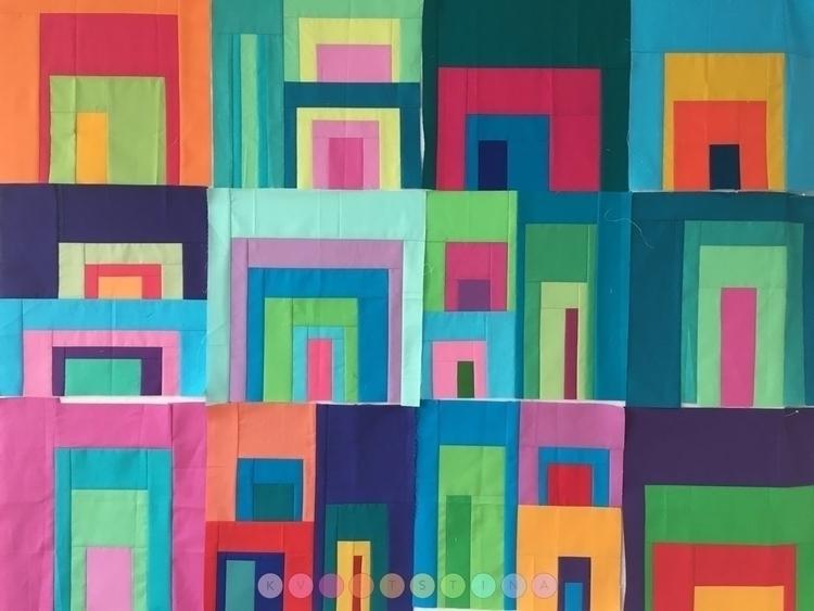 blocks ... friends. Love bright - kviltstina | ello