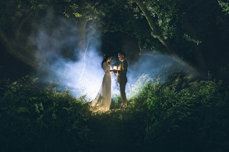 photography, wedding, flash, fairylights - algrolsch | ello